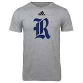 Adidas Sport Grey Logo T Shirt-R