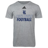 Adidas Sport Grey Logo T Shirt-Football