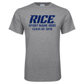 Grey T Shirt-Sport and Class of