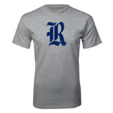 Sport Grey T Shirt-Official Logo Distressed