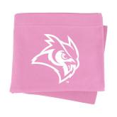 Pink Sweatshirt Blanket-Owl Head