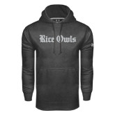 Under Armour Carbon Performance Sweats Team Hood-Rice Owls Wordmark