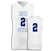 Replica White Adult Basketball Jersey-#2