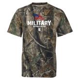 Realtree Camo T Shirt-Military Appreciation