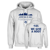 White Fleece Hoodie-2017 College Football Sydney Cup
