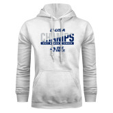 White Fleece Hood-Conference USA Womens Tennis Champions