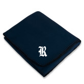 Navy Arctic Fleece Blanket-R