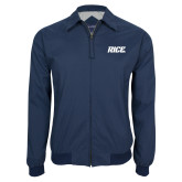 Navy Players Jacket-Rice