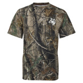 Realtree Camo T Shirt-Owl Head