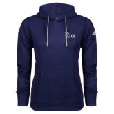 Adidas Climawarm Navy Team Issue Hoodie-Rice Wordmark