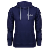 Adidas Climawarm Navy Team Issue Hoodie-Rice Owls Wordmark