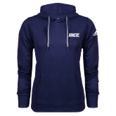 Adidas Climawarm Navy Team Issue Hoodie-Rice