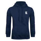 Navy Fleece Hood-R