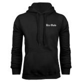 Black Fleece Hood-Rice Owls Wordmark