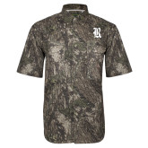 Camo Short Sleeve Performance Fishing Shirt-R