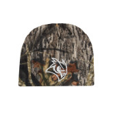 Mossy Oak Camo Fleece Beanie-Owl Head