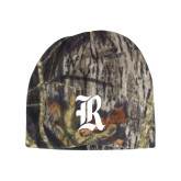 Mossy Oak Camo Fleece Beanie-R