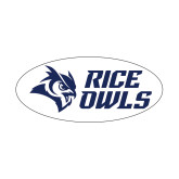 Small Magnet-Rice Owls Stacked, 6 inches wide