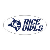 Medium Magnet-Rice Owls Stacked, 8 inches wide