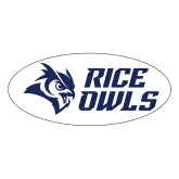 Large Magnet-Rice Owls Stacked, 12 inches wide