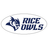 Extra Large Magnet-Rice Owls Stacked, 18 inches wide
