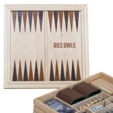 Lifestyle 7 in 1 Desktop Game Set-Rice Owls Engraved
