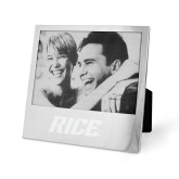 Silver 5 x 7 Photo Frame-Rice Engraved