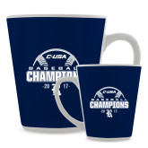 12oz Ceramic Latte Mug-Conference USA Baseball Champions