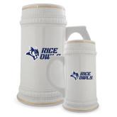 Full Color Decorative Ceramic Mug 22oz-Rice Owls Stacked