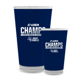Full Color Glass 17oz-Conference USA Mens Tennis Champions