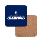 Hardboard Coaster w/Cork Backing-2017 Womens Soccer Champions