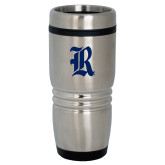 Rolling Ridges Silver Stainless Tumbler-R