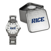 Ladies Stainless Steel Fashion Watch-Rice