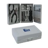 Compact 26 Piece Deluxe Tool Kit-Rice Wordmark