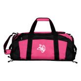 Tropical Pink Gym Bag-Owl Head
