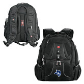 Wenger Swiss Army Mega Black Compu Backpack-Owl Head