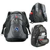 Wenger Swiss Army Tech Charcoal Compu Backpack-Owl Head