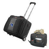 Wenger Transit Wheeled Black Compu Briefcase-Owl Head