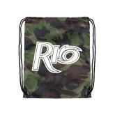 Camo Drawstring Backpack-Rio