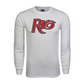 White Long Sleeve T Shirt-Rio