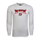 White Long Sleeve T Shirt-Rio Grande Baseball