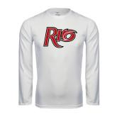 Performance White Longsleeve Shirt-Rio