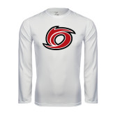 Syntrel Performance White Longsleeve Shirt-Cyclone O