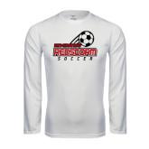 Performance White Longsleeve Shirt-RedStorm Soccer