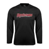 Syntrel Performance Black Longsleeve Shirt-RedStorm