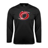 Performance Black Longsleeve Shirt-Cyclone O