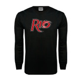 Black Long Sleeve TShirt-Rio