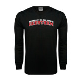Black Long Sleeve TShirt-Arched RedStorm Bottom