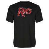 Syntrel Performance Black Tee-Rio