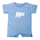 Light Blue Infant Romper-Rio